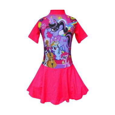 Rainy Collections Karakter My Little Pony Biola Diving Rok Baju Renang Anak [Size TK]