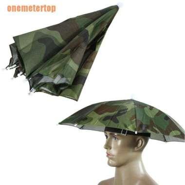 harga FREE ONGKIR (Vcv) Topi Payung Parasol Lipat Adjustable Pelindung Sinar Matahari - Hujan Blibli.com