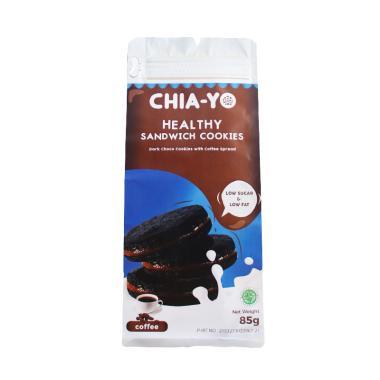 harga Chia-yo Sandwich Cookies Coffee Biskuit [85 g] Blibli.com
