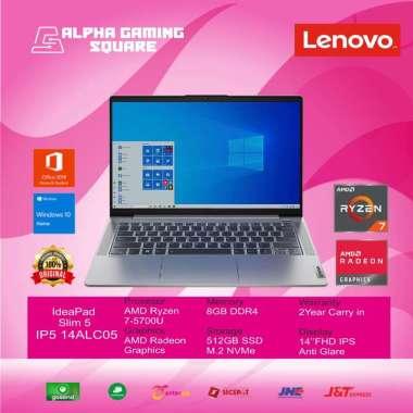 harga Laptop Lenovo IdeaPad 5 14ALC05-[AMD Ryzen 7 5700U/8GB/SSD512GB/14