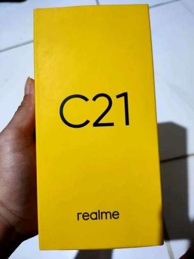 harga Realme C21 3/32 Cross Blue Blibli.com