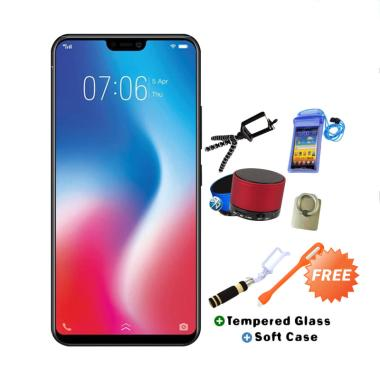 VIVO V9 Pro Smartphone - Red [64GB/ 6GB] + Free 8