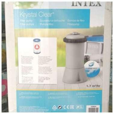 harga Jual Pompa Filter Intex #28604 Untuk 1,7M3-Jam Filter Kolam Keluarga Multicolor Blibli.com