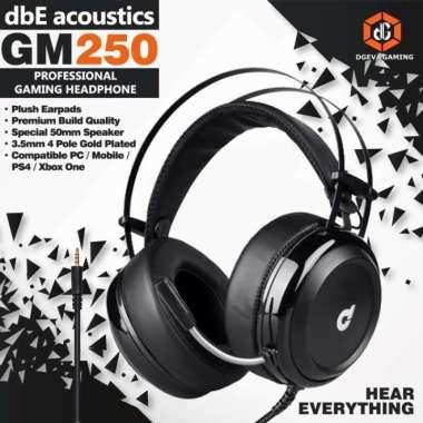 harga PROMO DBE ACOUSTICS GM250 PRO GAMING HEADSET - HEADPHONE Blibli.com