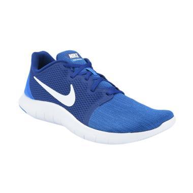 975f7d91af3e6 NIKE Men Running Flex Contact 2 Sepatu Lari Pria - Blue  AA7398-401