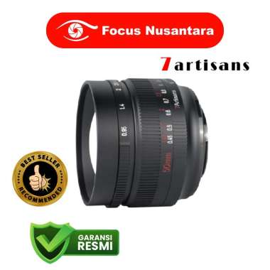 FOCUS NUSANTARA - 7ARTISANS 50mm f/0.95 for Fujifilm X-Mount black