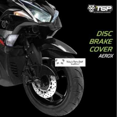 harga Promo Cover Disc Brake Rem Cakram Aerox th 2017-2021 Ori TGP Aksesoris Motor Berkualitas Blibli.com