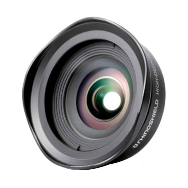 RhinoShield 0.6 HD Wide Angle Add On Lens for Smartphone - Hitam