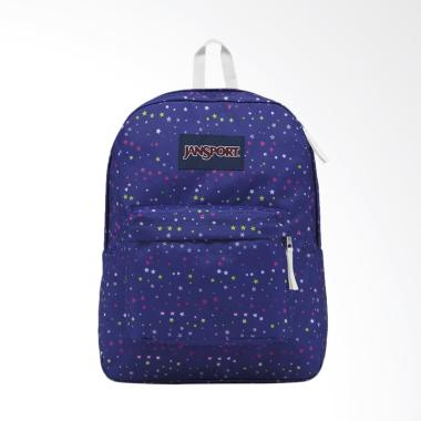 Jansport LBJST50149S Superbreak Scattered Stars Backpack Tas Wanita