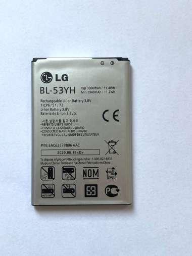 harga LG G3 Stylus [ 3000 MAH ] - BL-53YH - 100% ORIGINAL Baterai Batrai Batre Batery Batere Battery Batrai Batrey Hp Handphone Hape henfone BL53YH Blibli.com
