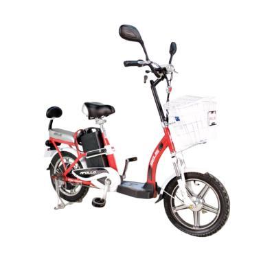 Selis Apollo Sepeda Listrik - Merah Putih