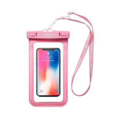 Spigen Waterproof Velo A600 Universal Phone Case - Pink