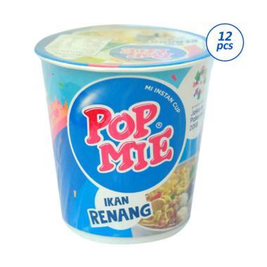harga Pop Mie Ikan Renang Ikan Tekwan Mie Instan Cup [12 pcs x 75 g] Blibli.com