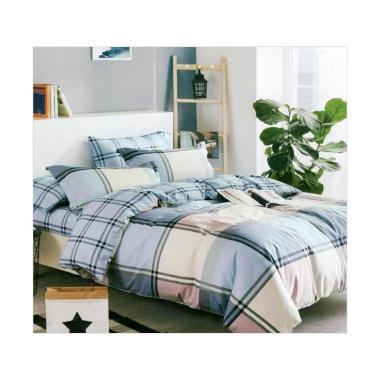 Fitur Ellenov Polos Hijau Muda Abu Muda Sprei With Bed Cover Katun Source · Jual Ellenov