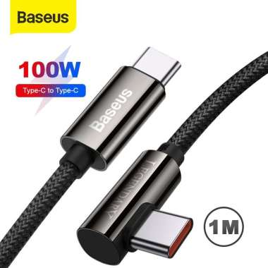 Baseus Fast Charging 100W Kabel Data Gaming Mobile Type C to Type C 1m
