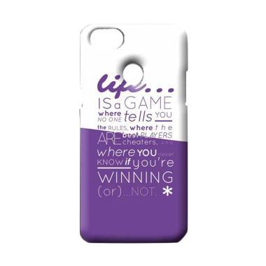OEM Typography Apple Custom Hardcase Casing for OPPO F7