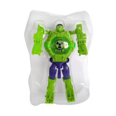 Avenger 1030040068 Hulk Digital Jam Tangan Anak - Hijau