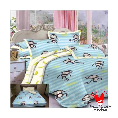 Rumindo Isharu Set Sprei dan Bed Cover