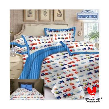 Rumindo Transportation Set Sprei dan Bed Cover