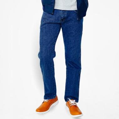BOMBBOOGIE Jeans Slim Fit Celana Panjang Pria - Biru