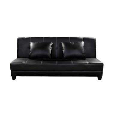 harga JYSK Sodeste Sofabed - Black [3 Seater/ 180 x 100 cm] Blibli.com
