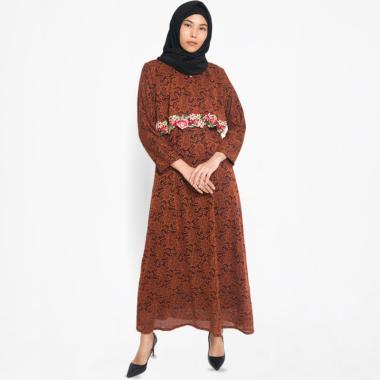Kasa Heritage Kyra Long Dress Gamis Wanita