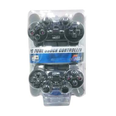 Skeleton USB Double Stick Gamepad for PC