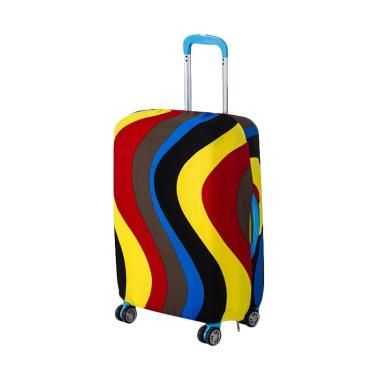 Homestuff Curve Luggage Cover Elast ... r [Size S / 18 - 20 Inch]