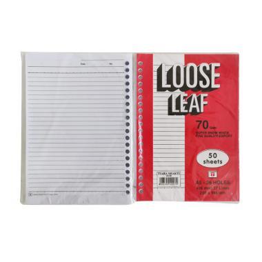 Tiara Loose Leaf [A5/ 50 Lembar/ 10 Pack/ 70 Gsm] - Kertas File - Bukan Sidu Sinar Dunia Kiky Big Boss