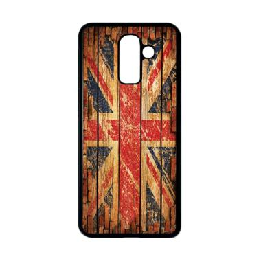 harga HEAVENCASE Motif Bendera Inggris 12 Casing for Samsung Galaxy J8 - Hitam Blibli.com