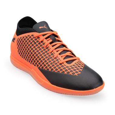 PUMA Men Football Future 2.4 IT Sepatu Sepakbola Pria - Orange Black   104842 02  3b5d7b4983