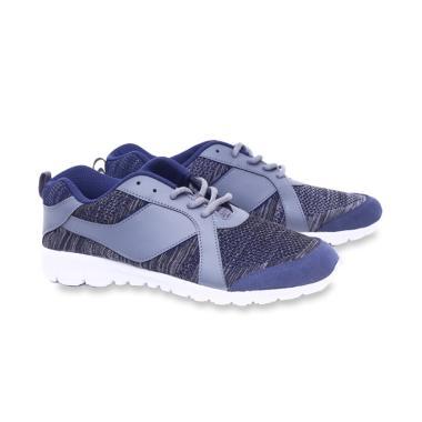 Garucci Running Shoes Sporty Sepatu Lari Pria - Grey [A1TMI 1300]