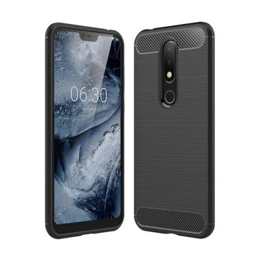 OEM Armor Carbon TPU Casing for Nokia 6.1 Plus