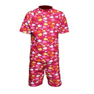 Lasona Diving SPR-I1635BD-L01933 Setelan Baju Renang Anak - Crimson