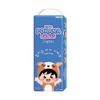 Pokana Pants Super Boy Popok Bayi [Size XL/ 22 Pcs]