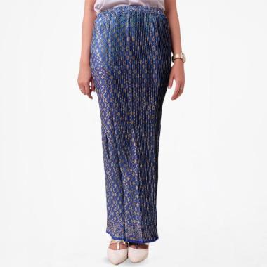 Batik Distro R1326 R1328 R1331 R1332 Motif Bunga Rok Plisket Wanita