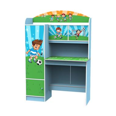 Super Furniture Sd 3202 Meja Belajar Anak Biru