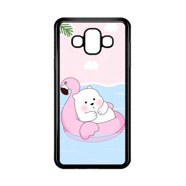 harga Bunnycase Cute Polar Bear Summer LI0215 Custom Hardcase Casing for Samsung Galaxy J7 Duo Blibli.com