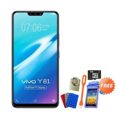 VIVO Y81 Smartphone - Black [16GB/  ... ry Card 8 GB & Accesories