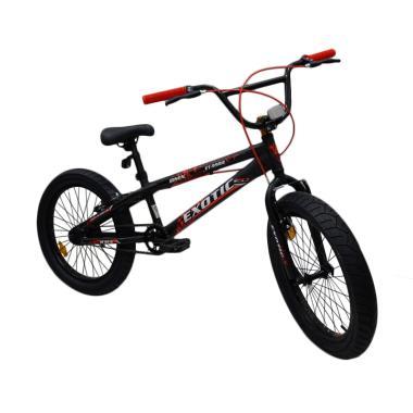 harga EXOTIC ET-9982 XT Sepeda BMX [ 20 inch ] Black-Yellow Blibli.com