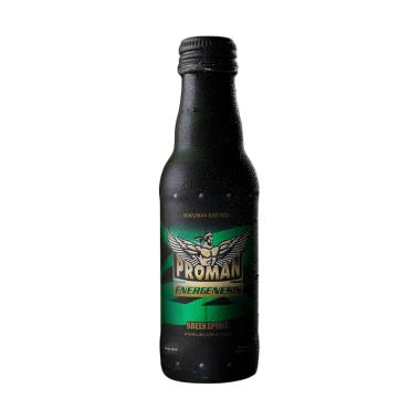 harga PROMAN Green Spirit Minuman Stamina [24 pcs/ 150 mL/ Botol] Blibli.com