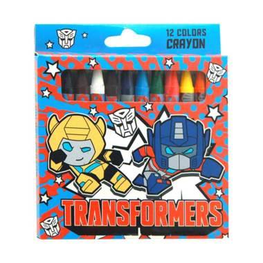 Adinata Transformers Kawaii Crayon - Biru [12 warna]