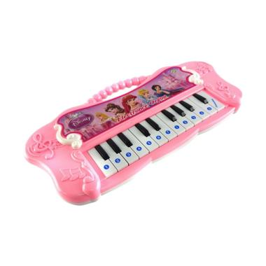 Happy Toon 3209 Disney Princess Electronic Organ Mainan Alat Musik Piano