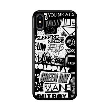 harga Flazzstore The Xx Coldplay Arctic Monkeys The Neighbourhood Sleeping With Sirens The 1975 Band Z0252 Premium Casing for iPhone XS Max Blibli.com