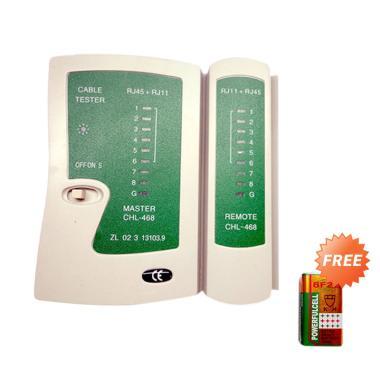 MTECH LAN Tester RJ45 and RJ11 + Free Battery