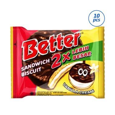 Better Sandwich Biscuit 30pcs (1 pack isi 10pcs x 3)