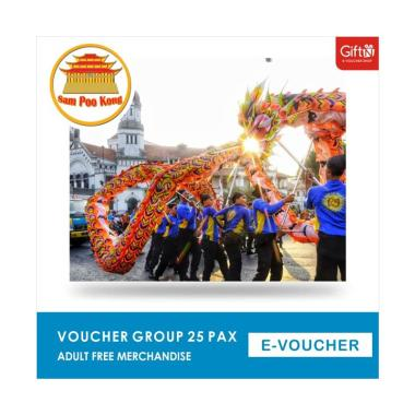 harga Sam Poo Kong Voucher Group [25 Pax/ Adult] + Free Merchandise Blibli.com