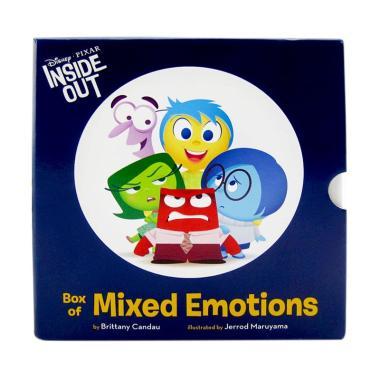 harga Disney Press Disney Pixar Inside Out : Box of Mixed Emotions Buku Anak Blibli.com