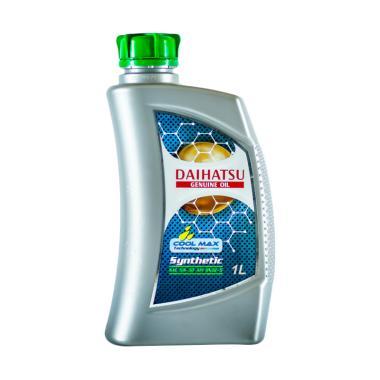 Daihatsu Genuine 5W-30 API SN-GF-5 Synthetic Oil Pelumas for Mobil [1 Liter]