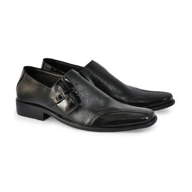 Jual Alexander Pantofel Leather Sepatu Formal Pria - Black  MV32H ... c6bac6f112